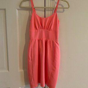 amanda uprichard pink dress size P (petite)